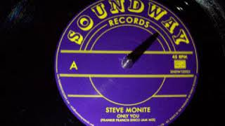Steve Monite Only You Frankie Francis Disco Mix