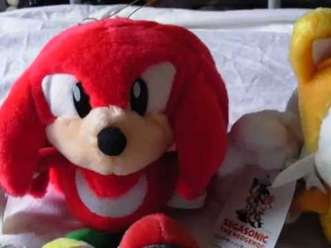Sega Sonic the Hedgehog 1995 Knuckles & Tails Suction Cup Plush Reviews