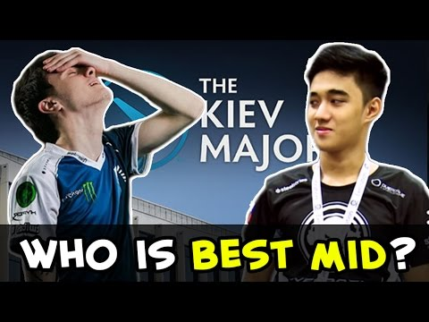 Miracle Invoker vs Abed DK on Kiev Major — Liquid vs DC