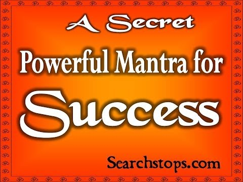 Succcess In Every Work - Most Powerful Tantra to Become Success In Your Tasks