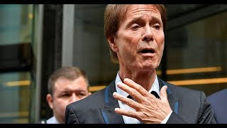 Cliff Richard struggles not to sob outside court as he wins police raid case - Daily News