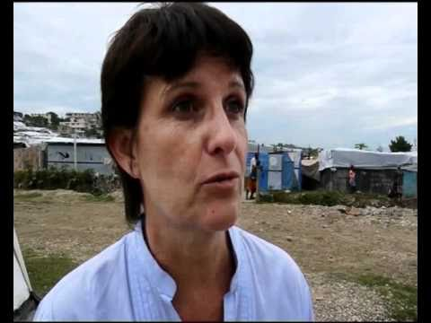 MaximsNewsNetwork: HAITI - UNICEF's ANTHONY LAKE VISITS REFUGEE CAMP in PORT-AU-PRINCE