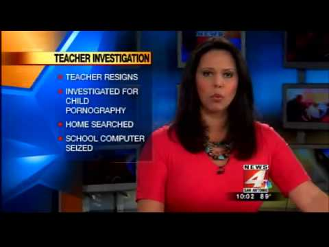 Teacher Arrested For Child Porn Resigns video