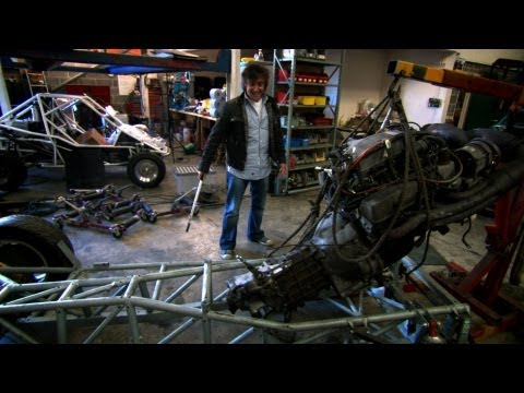 Building an electric car - Now in Full HD - Top Gear - Series 14 - BBC