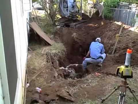 Installing New Septic Tank Youtube