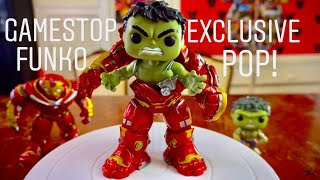 "6"" Hulk Busting out of Hulkbuster GameStop Exclusive Funko Pop! Avengers Infinity War"