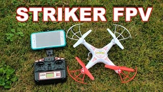 Striker Live Feed WiFi Spy Drone - FPV Quadcopter Review - TheRcSaylors