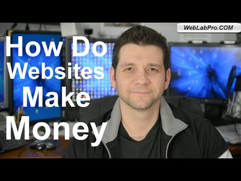 How Do Websites Make Money - Best Way To Make Money Online
