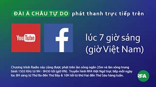 Phát thanh 17/09/2017 © Official RFA Video