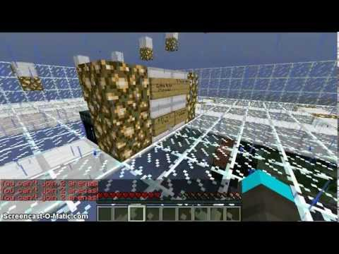 Minecraft cracked server 1.7.4 [hunger games,walls