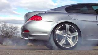 BMW Burnout Drift 6 Series
