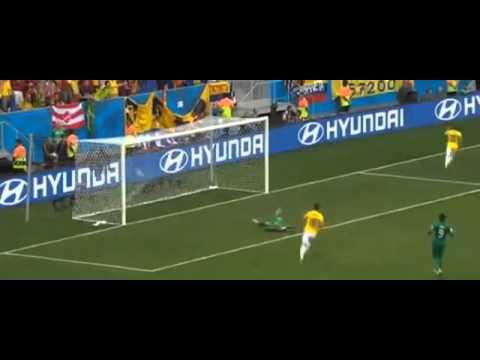 Gol de  Quintero   Colombia vs Ivory Coast 2 0 Mundial Brasil 2014