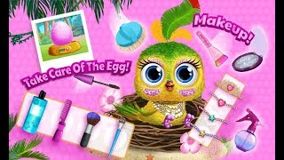 Baby Animal Hair Salon 3 - Newborn Hatch & Haircut - TutoTOONS Games for Kids