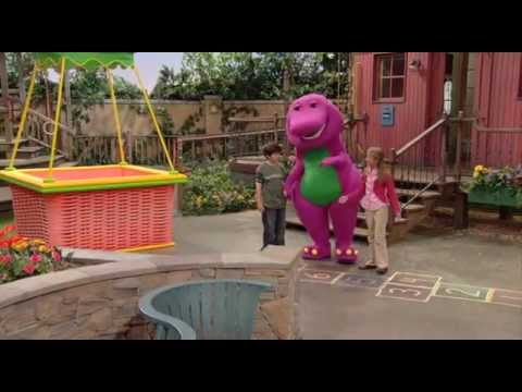 Barney Big World Adventure The Movie video