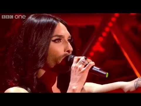Austria's Conchita Wurst performs 'Rise Like a Phoenix' - Eurovision's Greatest Hits - BBC One