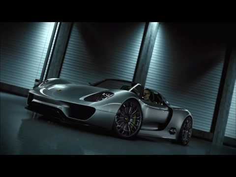 Porsche 918 Spyder Concept Promotional Video Video
