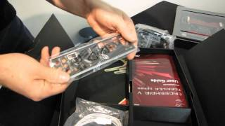 ASUS Crosshair V Formula 990FX SLI Crossfire Motherboard Unboxing & First Look Linus Tech Tips