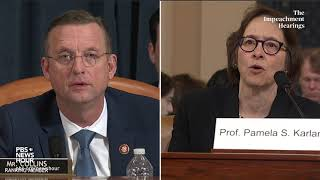 WATCH: Pamela Karlan 'insulted' over Rep. Collins' suggestion that she wouldn't care about facts
