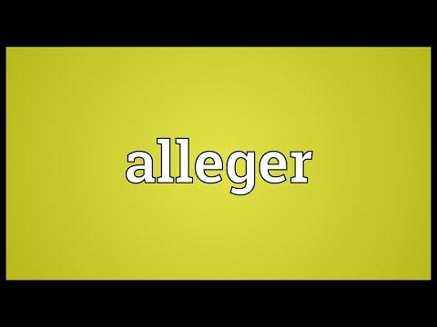 Header of Alleger