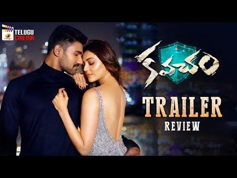 Kavacham Movie TRAILER review | Bellamkonda Srinivas | Kajal Aggarwal | Mehreen Kaur | Telugu Cinema