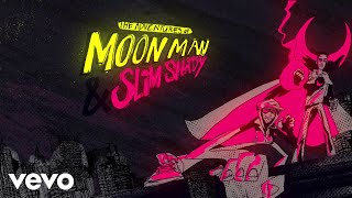 Kid Cudi, Eminem - The Adventures Of Moon Man & Slim Shady (Lyric Video)