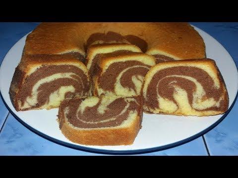 Cara Membuat Bolu Marmer Chocolatos Enak