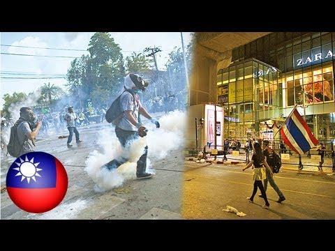 Estimated 1,000 Hong Kong tourists still in Bangkok as Thai crisis deepens