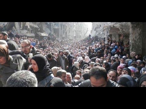 Yarmouk, le camp syrien où les Palestiniens meurent de faim
