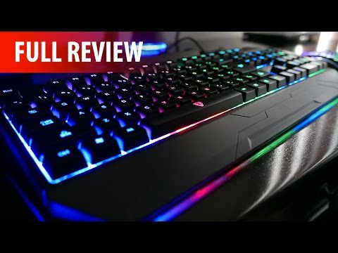 Motospeed S69 - $28 LED Backlit Gaming Keyboard & Mouse Set