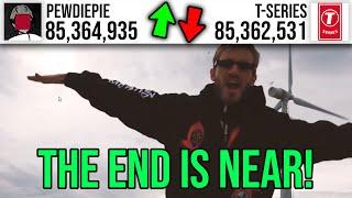 THE FINAL BATTLE: T-Series vs PewDiePie LIVE