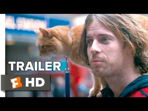 A Street Cat Named Bob Official Trailer #1 - Joanne Froggatt. Luke Treadaway Movie HD