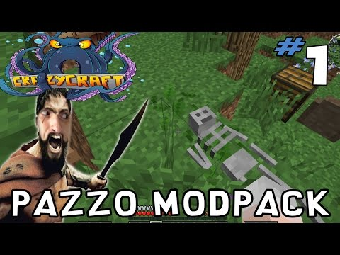 Minecraft Crazy Craft 3.0 Let's Play ITA Ep. 1 Pazzo Modpack