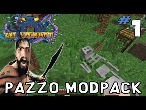 Minecraft Crazy Craft 3.0 Let's Play ITA Ep. 1 Pazzo Modpack
