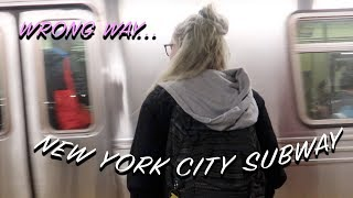 Getting LOST on the NYC subway!