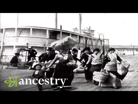 Ancestry.com Ellis Island Oral Histories