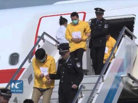 China telecom swindle case- 254 suspects extradited
