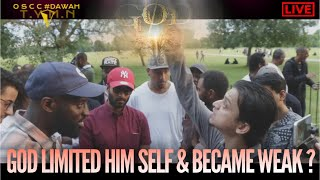 Video: God came to Earth as a mortal Man. Why limit the unlimited? - Mansur Ahmed vs Bib