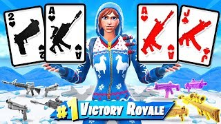 21 *BLACKJACK* Card GAME in Fortnite!