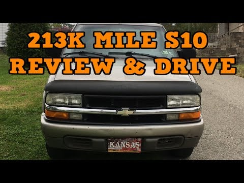 213k Mile Chevy S10 Review, Drive, & 0-60