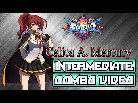 Celica A. Mercury Combo Video 2.0 | Blazblue Chronophantasma 2.0 video