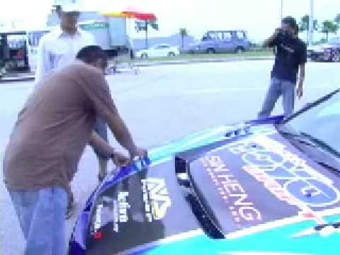 Making of KL Drift 2 @ Putrajaya