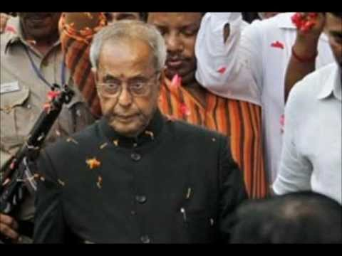Pranab Mukherjee was elected as the 13th President of India