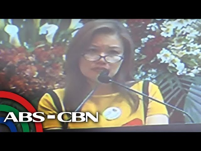 Honeylet defends Duterte: Trillanes is still alive