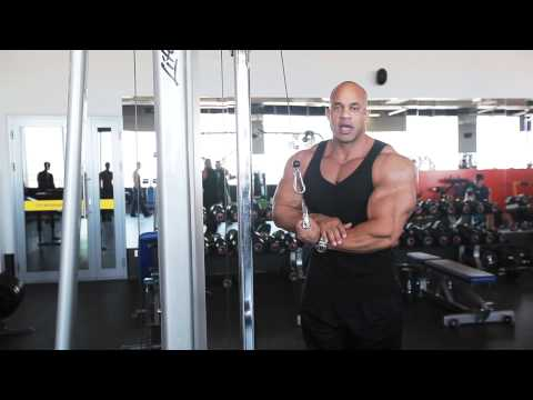 Triceps workout with Victor Martinez Image 1