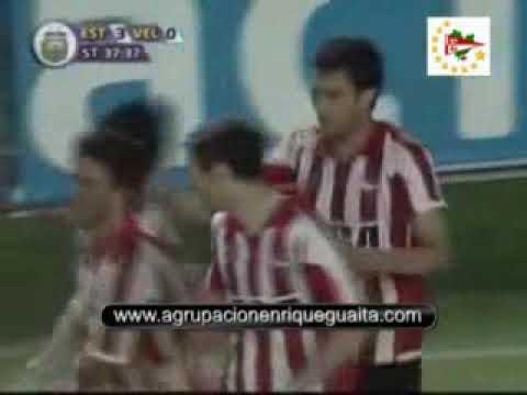 ESTUDIANTES 3 - Velez 0 Apertura 2009.