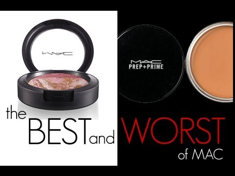 BEST &amp; WORST MAC PRODUCTS!!!!
