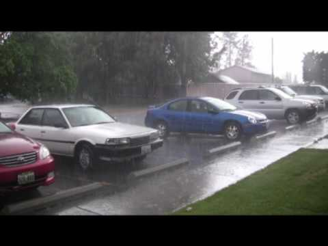 Hail, Lightning Volatile Weather in Cheney Washington
