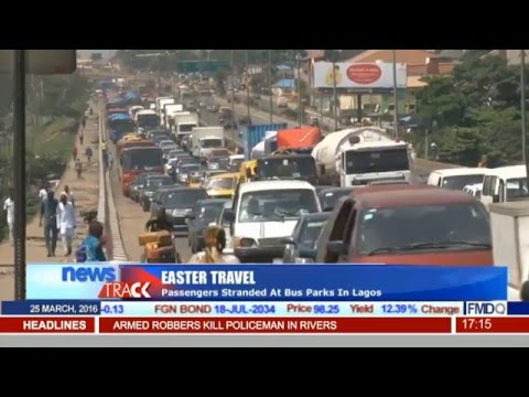Easter Travel: Passengers Stranded At Bus Parks In Lagos