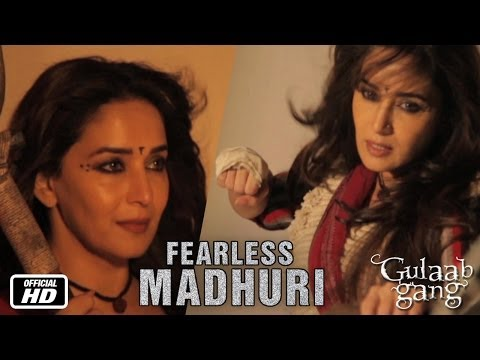 Fearless Madhuri | Action Sequence Making | Gulaab Gang