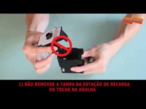 Kit Recarga preta para tinteiros Canon PG-37/40/50/830/540